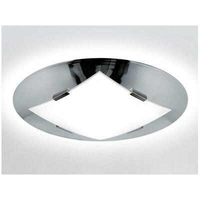 Zaneen Lighting Damas Flush Mount  /  Wall Sconce in Chrome