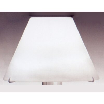 Zaneen Lighting Elea Glass Shade in White