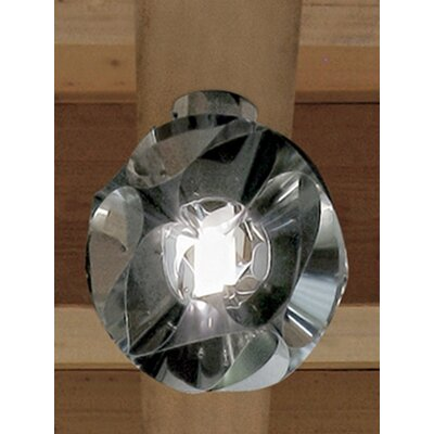 Zaneen Lighting Floral Flush Mount in Chrome