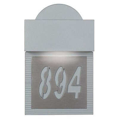 Zaneen Lighting Mini Signal Address Plaque