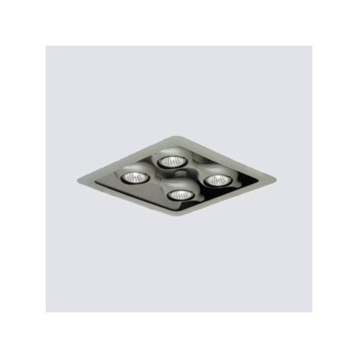 Zaneen Lighting Space Four Light Square Recessed Light