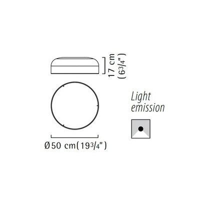 Zaneen Lighting Mai 1 Light Semi Flush