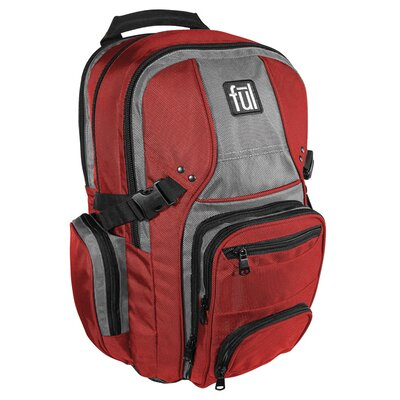 FUL Tennman Computer Backpack in Red