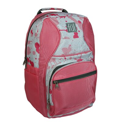 Superstition Backpack in Pink with Paint Splatter