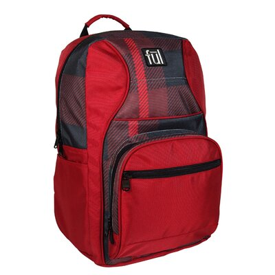 Superstition Backpack in Red Plaid