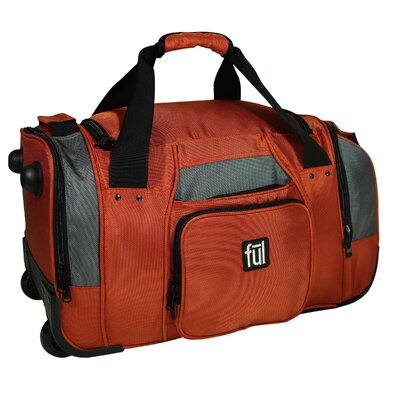 "FUL 21"" Fast Forward 2-Wheeled Travel Duffel"