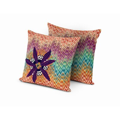 Missoni Home Narboneta Embroidered Cushion