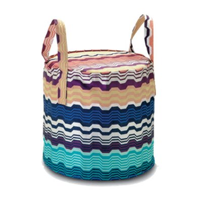 Missoni Home Oakley Bag and Cylindrical Pouf