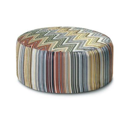Missoni Home Master Moderno Trevira 160 Osage Pouf Bean Bag Chair