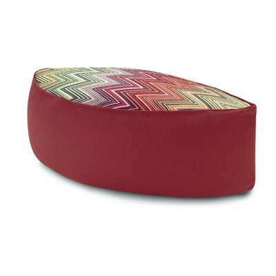 Missoni Home Ozan Leaf Shaped Pouf Ottoman