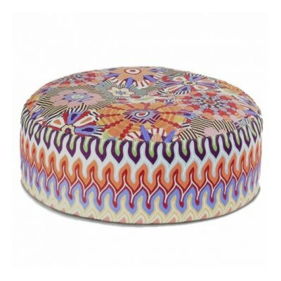 Missoni Home Murrine Naima Pouf Ottoman