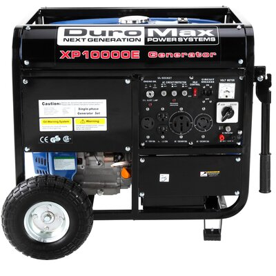 10,000 Watt Gasoline Generator With Electric Start - XP10000E