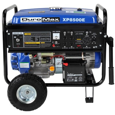 Duromax 8500 Watt Gasoline Generator With Electric Start