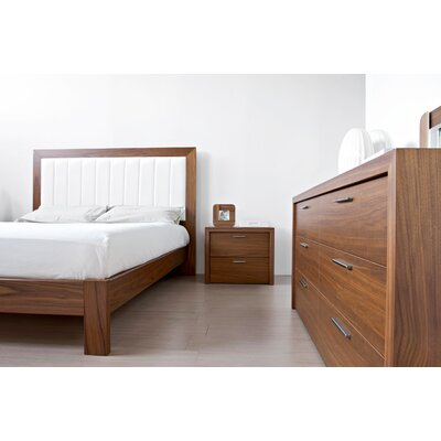 Calligaris York 2 Drawer Nightstand