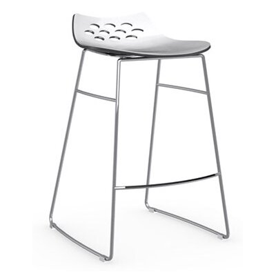 "Calligaris Jam 31.5"" Sled Base Stool"