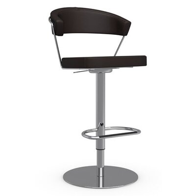 "Calligaris New York 26"" Adjustable Swivel Bar Stool"