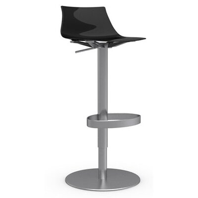 "Calligaris Ice 25.98"" Adjustable Swivel Bar Stool"