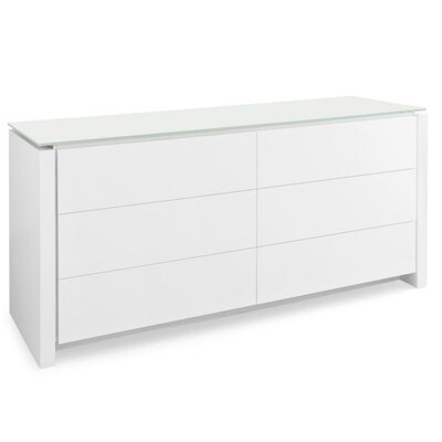 Calligaris Mag 6 Drawer Dresser