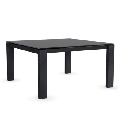 Sigma Glass Adjustable Extension Dining Table