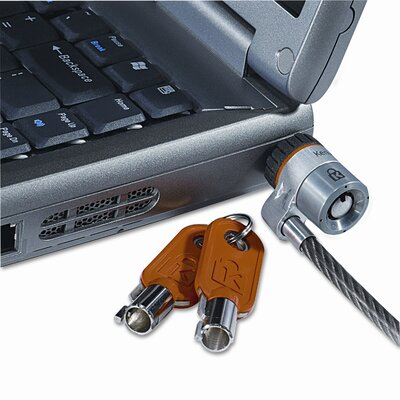 Kensington Laptop Computer Microsaver Security Cable with Lock
