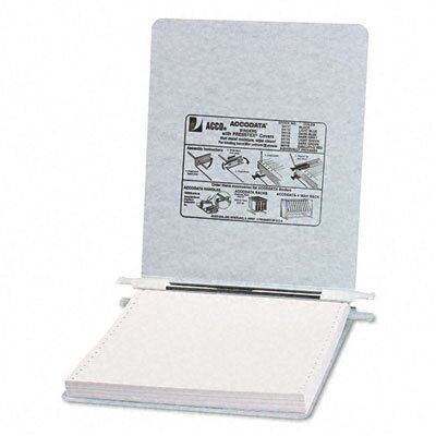 Acco Brands, Inc. Pressboard Hanging Data Binder, 9-1/2 x 11 Unburst Sheets