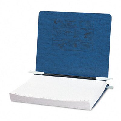 Acco Brands, Inc. Pressboard Hanging Data Binder, 8-1/2 x 11 Unburst Sheets, Dark Blue