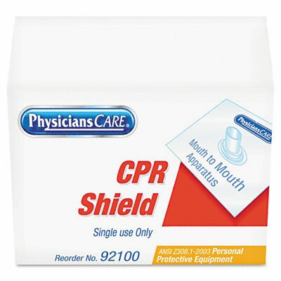 Acme United Corporation Physicianscare Emergency First Aid Disposable CPR Mask