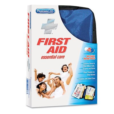 Acme United Corporation Physicianscare Soft-Sided First Aid Kit For Up To 10 People, Contains 95 Pieces