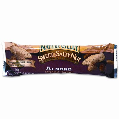 Advantus Corp. Granola Bars, Sweet & Salty Nut Almond Cereal, 1.5oz Bar, 16/box