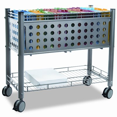 Advantus Corp. Vertiflex Smar2rx File Cart, 1-Shelf, 28-1/4W X 13-3/4D X 27-3/8H
