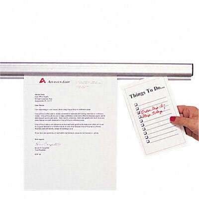 Advantus Corp. Grip-A-Strip Display Rail, 48 X 1 1/2