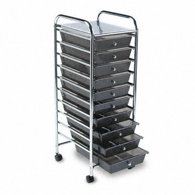 Advantus Corp. Portable Drawer Organizer, 15-1/4W X 13D X 37-5/8H