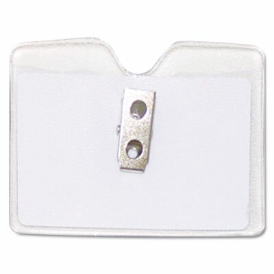 Advantus Corp. Security Id Badge Holder, Horizontal, 3 1/2W X 2 1/2H, 50/Box