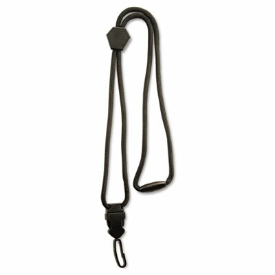 "Advantus Corp. Executive Braided Lanyard, Swivel J-Hook Style, 36"" Long"