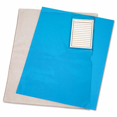 Advantus Corp. Vinyl File Folder, Letter with Pocket
