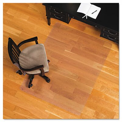 Advantus Corp. Es Robbins 46X60 Rectangle Chair Mat, Economy Series for Hard Floors