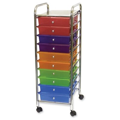 Advantus Corp. Portable Drawer Organizer, 15-1/2W X 13D X 37-5/8H