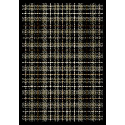 Whimsy Bit O' Scotch Flannel Gray Rug