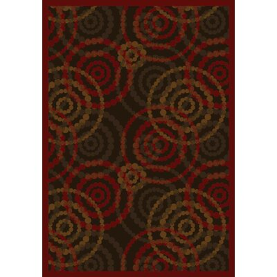 Joy Carpets JC3163Whimsy Dottie Warm Earth Rug