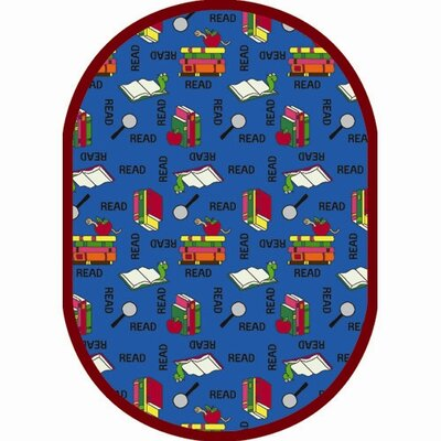Joy Carpets Just for Kids Bookworm Kids Rug