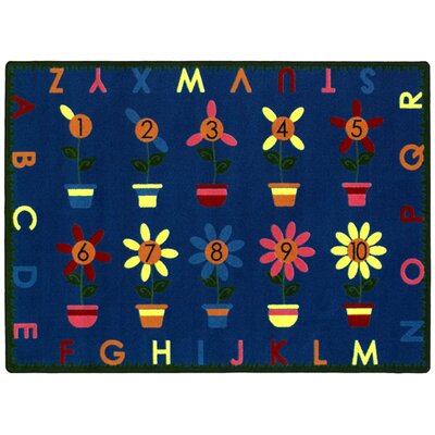 Joy Carpets Educational Petal Pushers Kids Rug