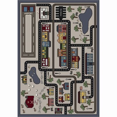 Joy Carpets Just for Kids Tiny Town Kids Rug
