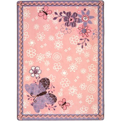 Joy Carpets Just For Kids Flower Fields Kids Rug