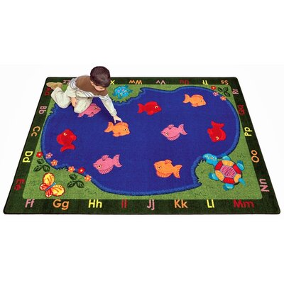 Joy Carpets Educational Essentials Fishin' Fun Kids Rug