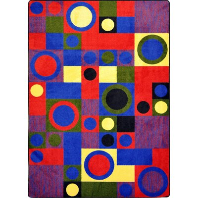 Joy Carpets Kid Essentials City Block Kids Rug