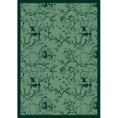 Joy Carpets Nature Fancy Fiddlers Green Kids Rug