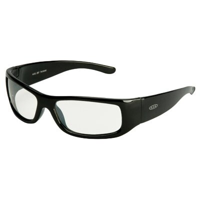 Aearo Technologies Moon Dawg Safety Glasses With Black Frame And Indoor/Outdoor Mirror Lens