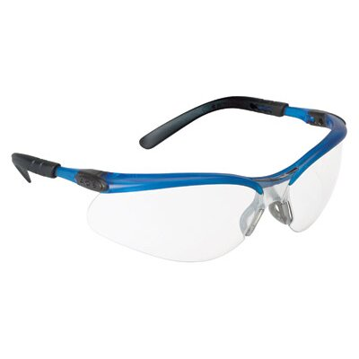 Aearo Technologies Safety Glasses With Ocean Blue Frame And Clear Anti-Fog Lens