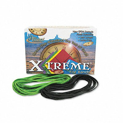 Alliance Rubber X-Treme File Bands, #117B, 7 X 1/8, Approx. 175 Bands/1Lb Box