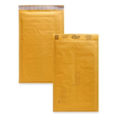 "Alliance Rubber Naturewise Puncture-resistant Mailers, w/Peel and Seal, No 3, 8-1/2""x14-1/2"", 25/CT,"